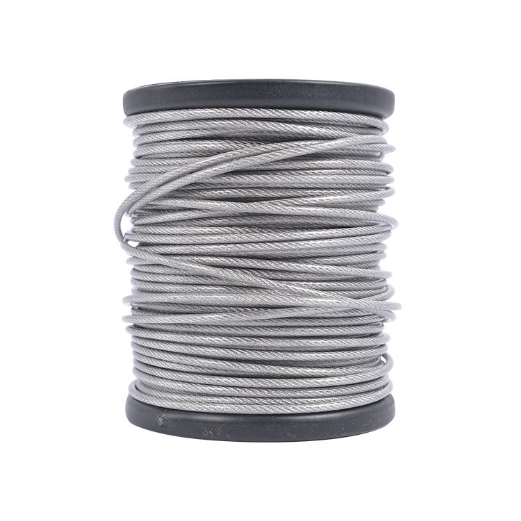 Nickel white diameter 0.3mm-30mm 304 stainless steel wire rope