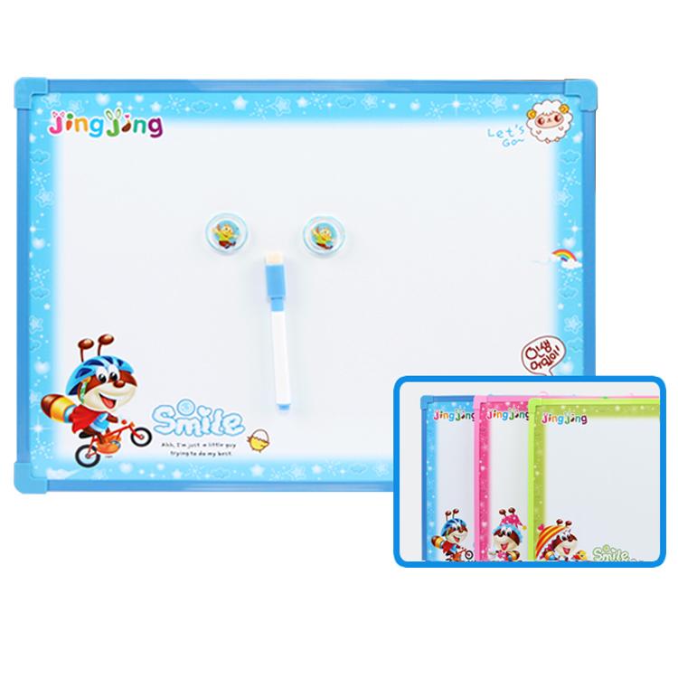 magnetic writing drawing board white toy stell smart white board small school double sided white board for kids - Yola WhiteBoard | szyola.net