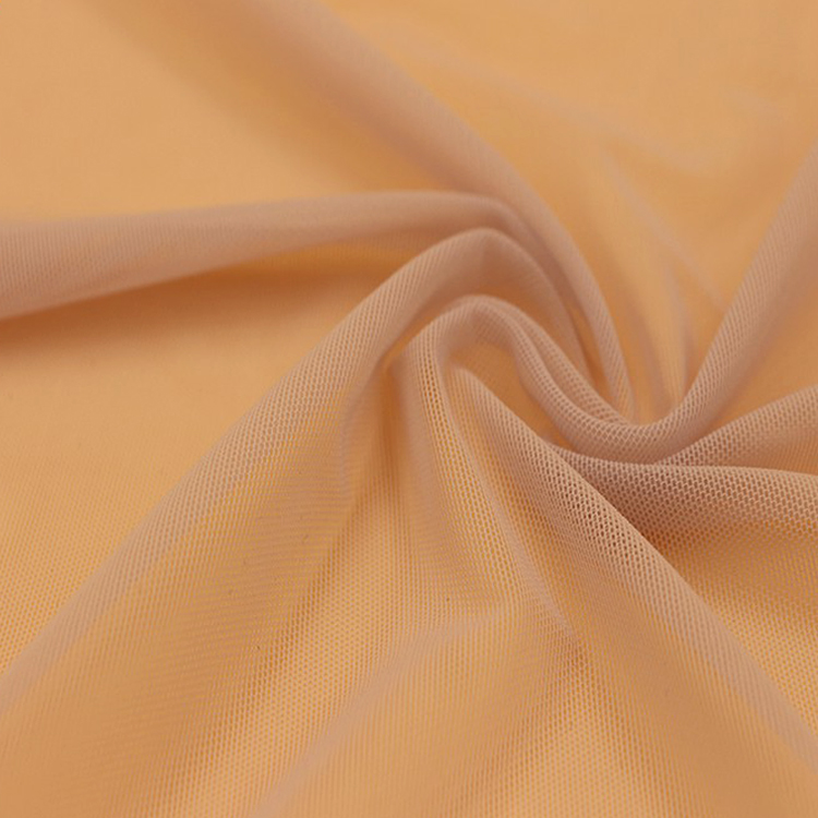 Stretch Mesh Fabric 62 Nylon 38 Spandex Tulle Net Fabric High Quality Fabric For Clothes