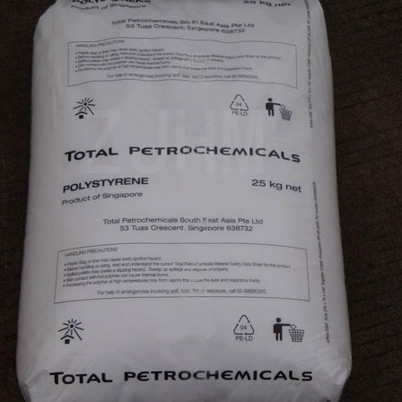 HIPS resin/Total 1250/ for CD cases/medical/laboratory projects/cosmetic packaging