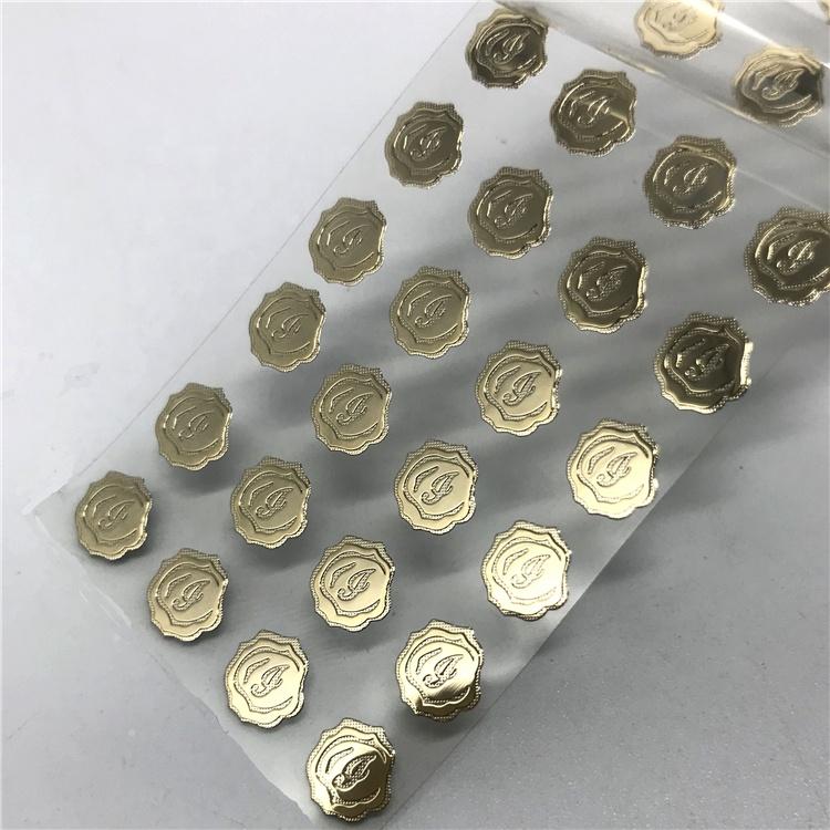 Custom electroform high quality logo plate metal label 3d metal plate transfer nickel sticker