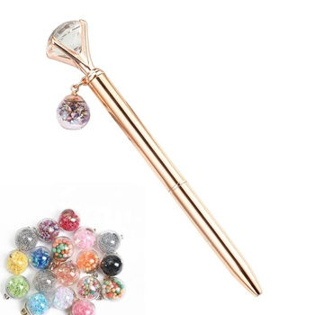 Promo graceful Happy Lucky Love Health Wealth Spiritual Awareness Spell Magical pendent bottle diamond stone pen