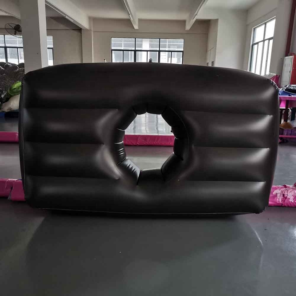 Hot Sale Pink Relax Inflatable Pregnancy Air Mattress BBL Bed