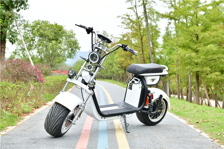 2021 YIDE Supply the most fashionable citycoco 2000w 2 wheel electric scooter for adult electric motorcycle