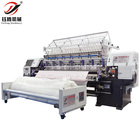 Lock stitch multi needle quilting machine for comforter, Bed cover making machine,Industrial quilting machine