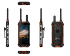 Android 8.1 Military Army Use Rugged Mobile Phone B31 LTE DMR PPT+POC Double Walkie Talkie Smartphone