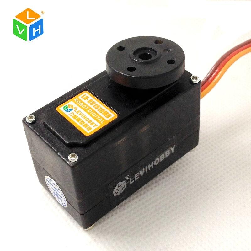 LVH RS0610MD 6 кг Крутящий момент 180 градусов Цифровой Металлический Шестеренчатый двухвальный сервомотор для Arduino Robotic