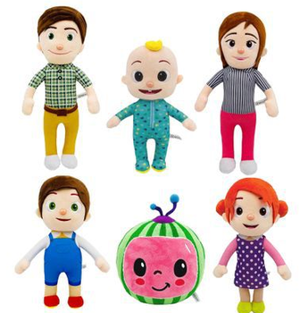 Cocomelon Plush Toys Stuffed Anime Watermelon Dolls Children Gifts