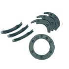 Ring The Latest Product Carbon Graphite Impregnated Metal Mechanical Seal Ring Carbon Ring Seal Split Ring