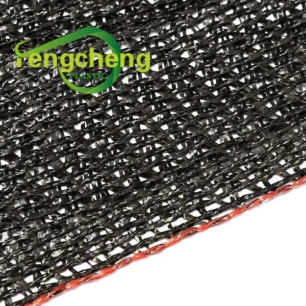 2020 сельскохозяйственные пластиковые сетчатые теневые сети 80% черная УФ ламинированная вязаная сетка для растушевки для фермы и теплицы