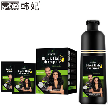 Latest Wholesale Price Super Black Hair Dye Ammonia Free Vip Hair Color Shampoo