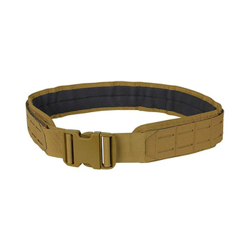 Premium heavy duty premium nylon unisex military laser cut slots modular tactical gun belt
