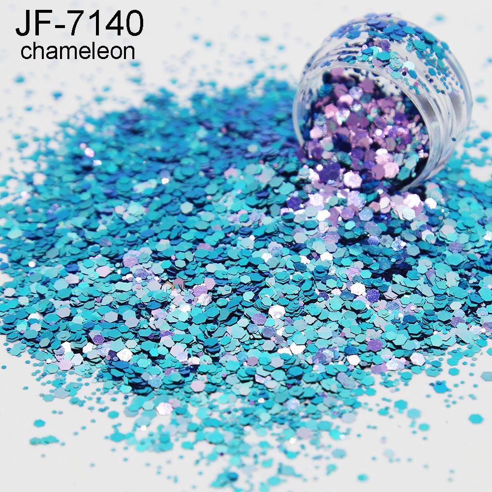 decoration chunky glitter nail sequins wholesale bulk glitter powder mix