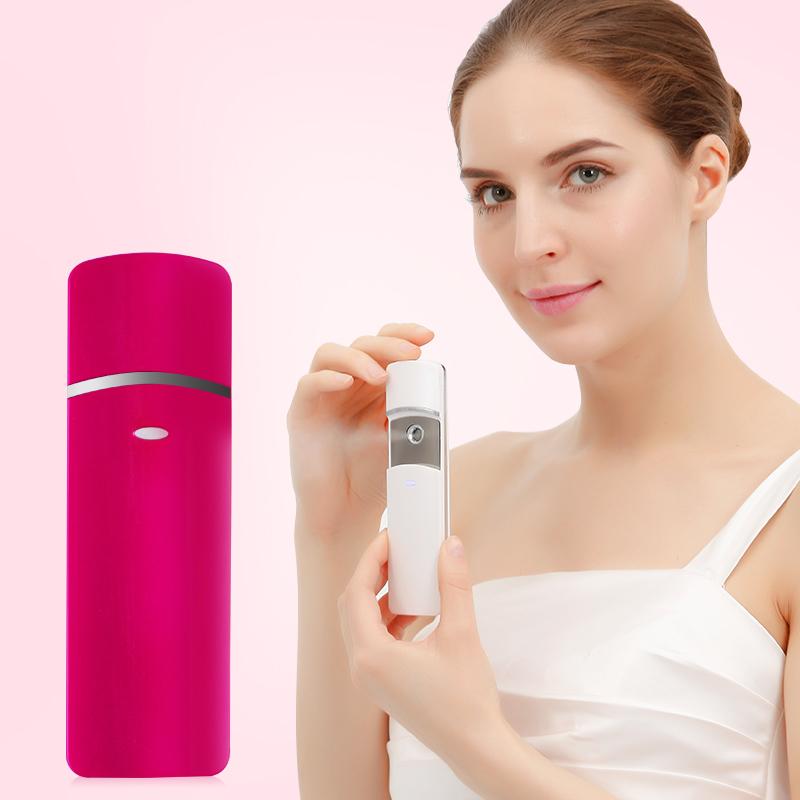 Wholesale Usb Rechargeable Humidifying Water Tank Facial Spray Nano Beauty Skin Care Portable Hydrating Mist Sprayer