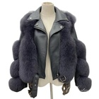 Wholesale Hot Selling Thick Warm Winter Women Faux Fur Leather Jacket Coat