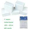 """Square 1"""" cotton"""