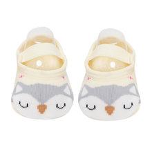 1 пара, модные Нескользящие хлопковые носки-тапочки с милыми рисунками для маленьких девочек и мальчиков ясельного возраста обувь для новор...(China)