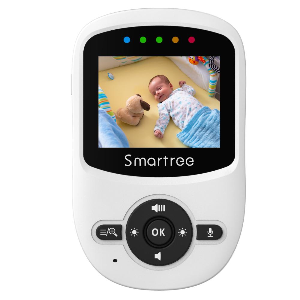 Прямые продажи с фабрики, 360 панорамный монитор для мониторинга ребенка 2,4, умный монитор для ребенка с камерой и ночным видением