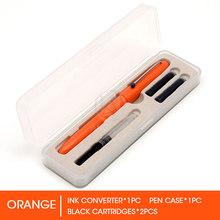 Перьевая ручка Andstal Kaco в стиле ретро, очень тонкая, 0,38 мм, с чернильным картриджем, подарочный набор, гладкие ручки для письма и практики студ...(Китай)