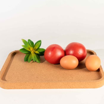 Best-selling rectangular cork tray for storage