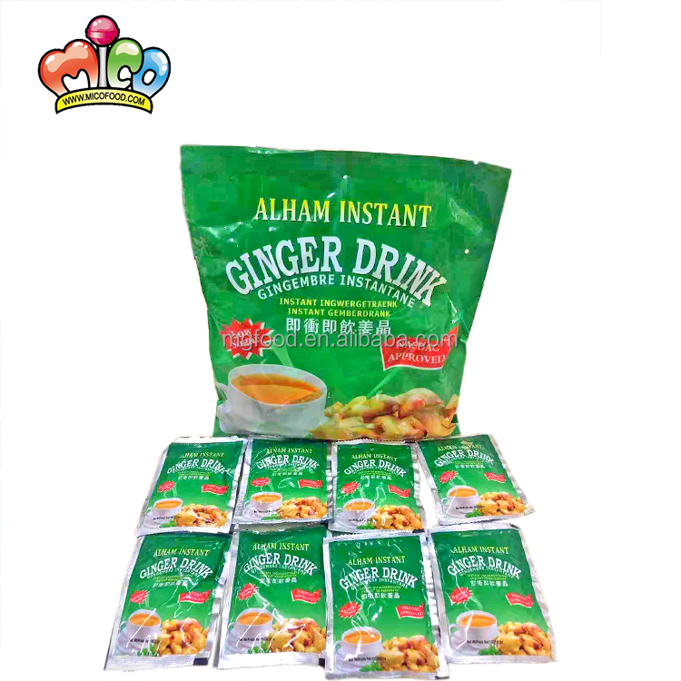 Low-sugar Original Honey Flavor Ginger Drink Instant Food Powder Tea - 4uTea   4uTea.com