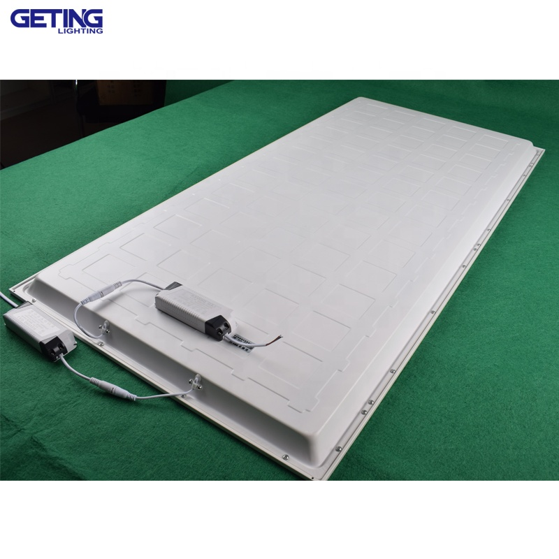 zhongshan factory 600x1200 80W led ceiling panel light white backlight 3years