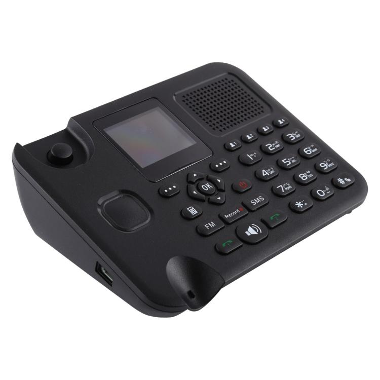 Проводные телефоны ZT9000 2,4 дюймовый TFT экран фиксированный беспроводной GSM бизнес телефон четырехдиапазонный: GSM 850/900/1800/1900Mhz телефон