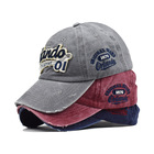 Products Xunbei New Products Popular Men Women Hat Embroidered Letter Denim Visor Sports Hat
