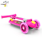 New Scooter New Style Colorful Children Foot Powered 3 Wheel Kids Scooter With Brake