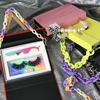 random color shopping bag box