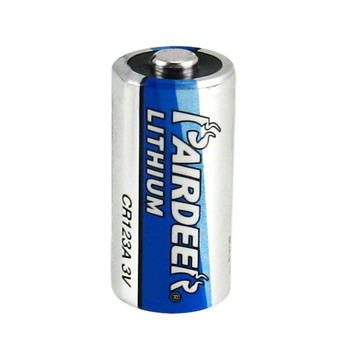 factory wholesale pairdeer disposable 3V 1400mAh non Rechargeable CR123A CR123 123A li-mno2 Lithium Battery