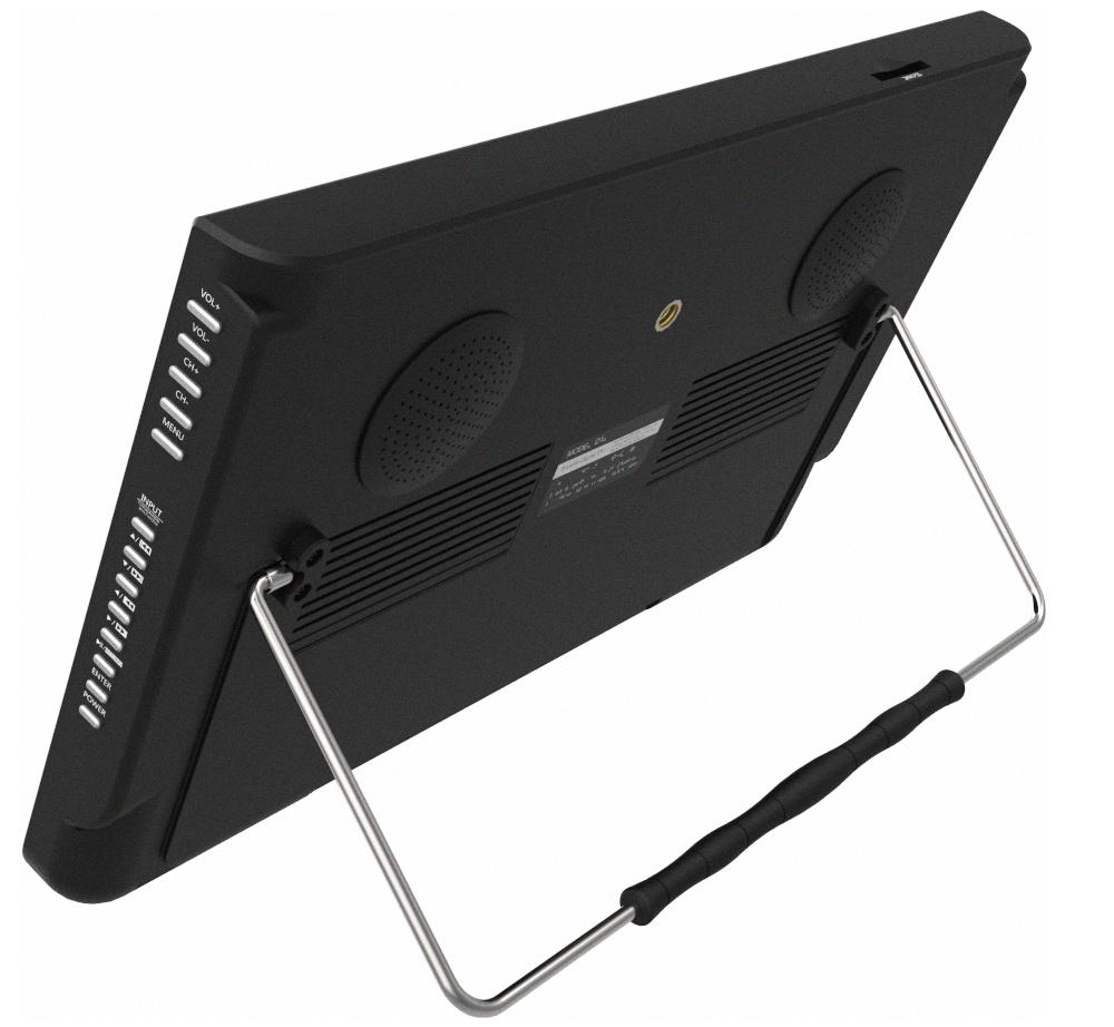 Индийский автомобильный ЖК-монитор, мини-Телевизор, портативный ЖК-телевизор Dvb T2