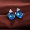 Bleu + Argent Plated-E550