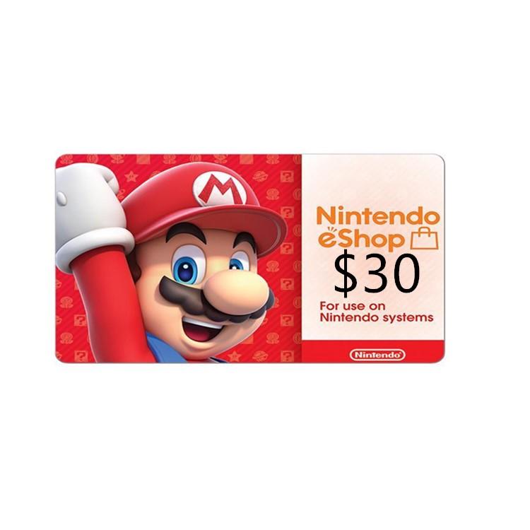 US region 10US Eshop nintendo gift card