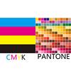 Custom based on CMYK/Oantone color