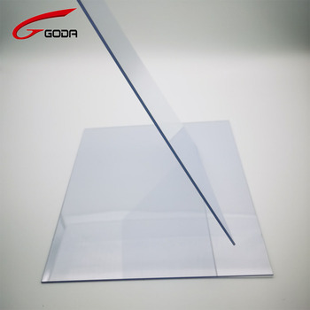 High quality PVC transparent rigid plastic sheet for vacuum forming and thermoforming
