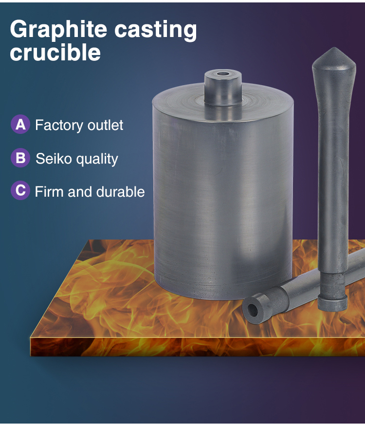 DVC-II and AVC-II graphite crucibles and stoppers for jewelry casting