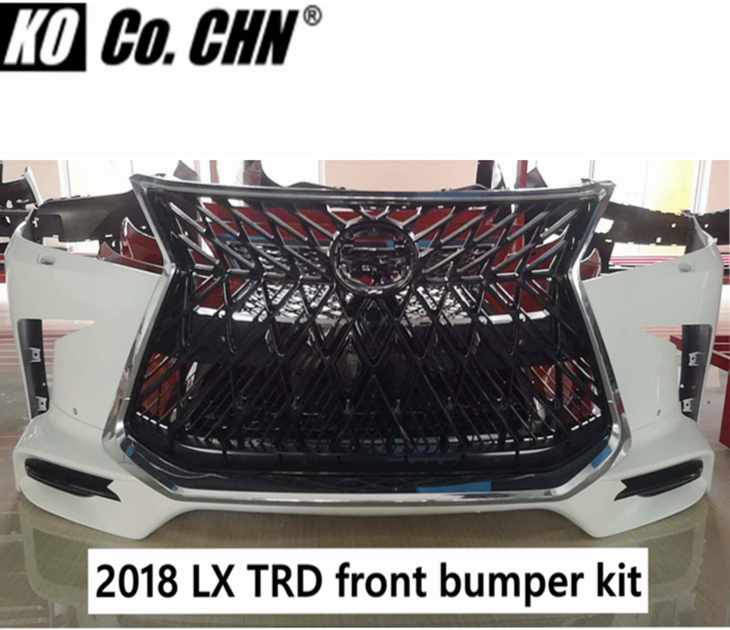 Front bumper kit for Toyota Lexus LX LX570 2018 2019 2020