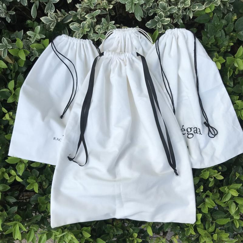 Прямая поставка с завода, индивидуальный логотип, напечатанная упаковка, мешок для защиты от пыли на шнурке для сумочки