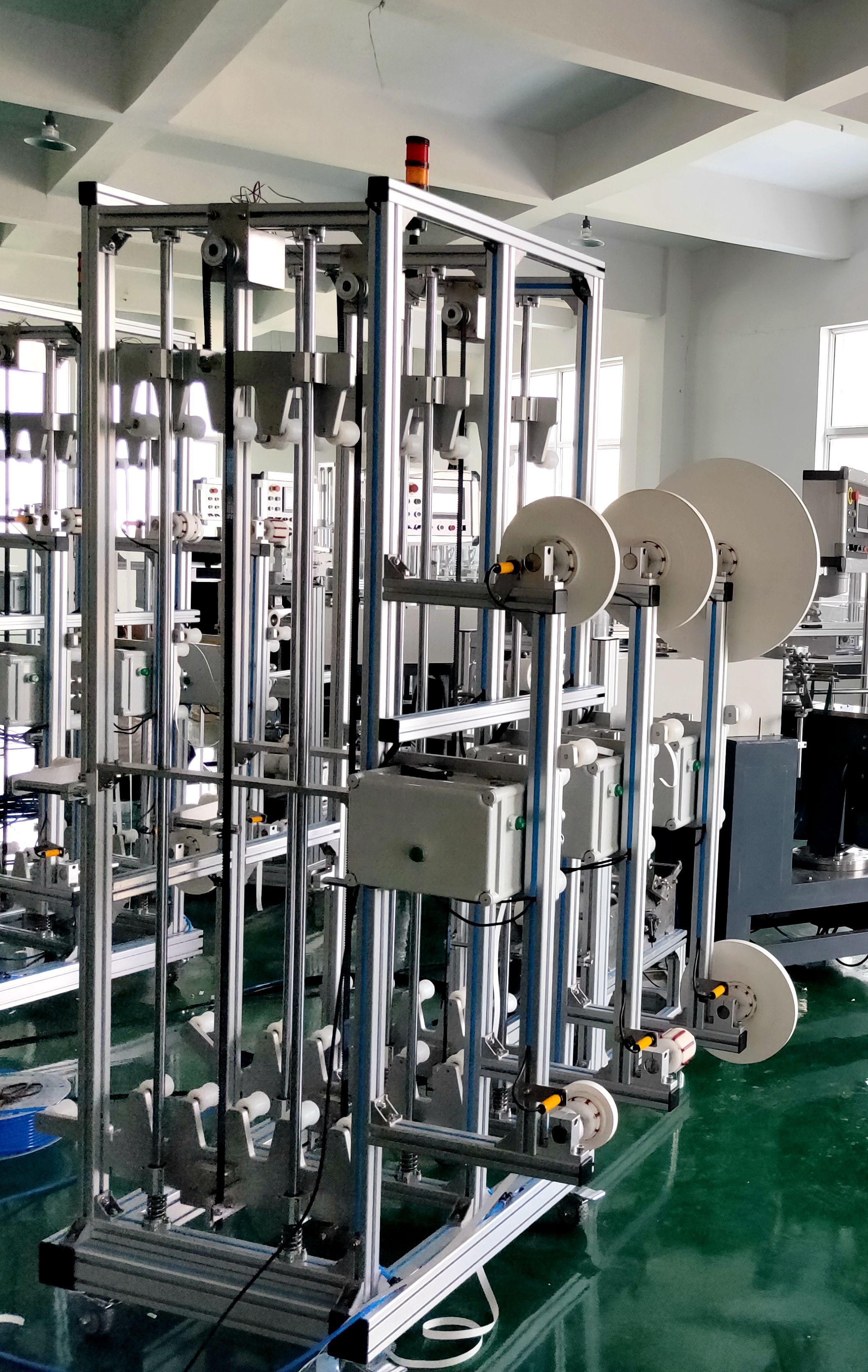 Stable performance factory price drinking paper straw making machine
