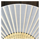 Hand Paper Fan Fans Bulk Wholesale Promotional Custom Logo Hand Held Paper Fan Plain Paper Hand Fans