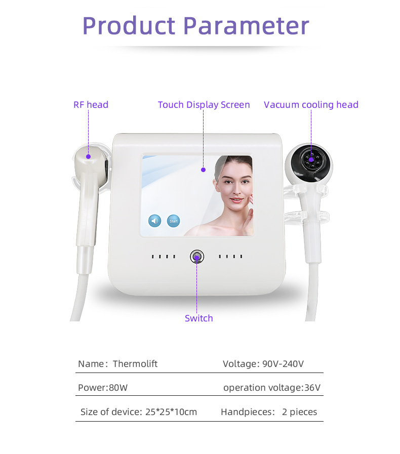 2021 portable rf 2 in 1 beauty products Home use facial beauty radio frequency machine lifting RF facial