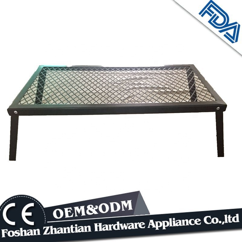 Portable high temperature resistant folding grill outdoor grill