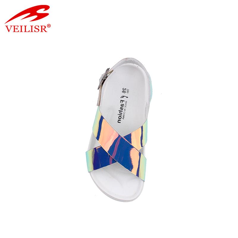 Летние детские сандалии на ремешке из полиуретана