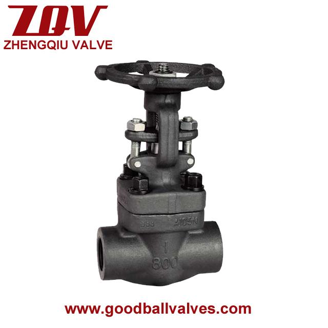API 602 forged steel gate valve
