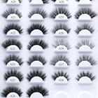 Eyelashes Eyelash With A24 Hitomi Real Siberian Mink Eyelashes Private Label Lash Box Mink Eyelash With Packaging Box