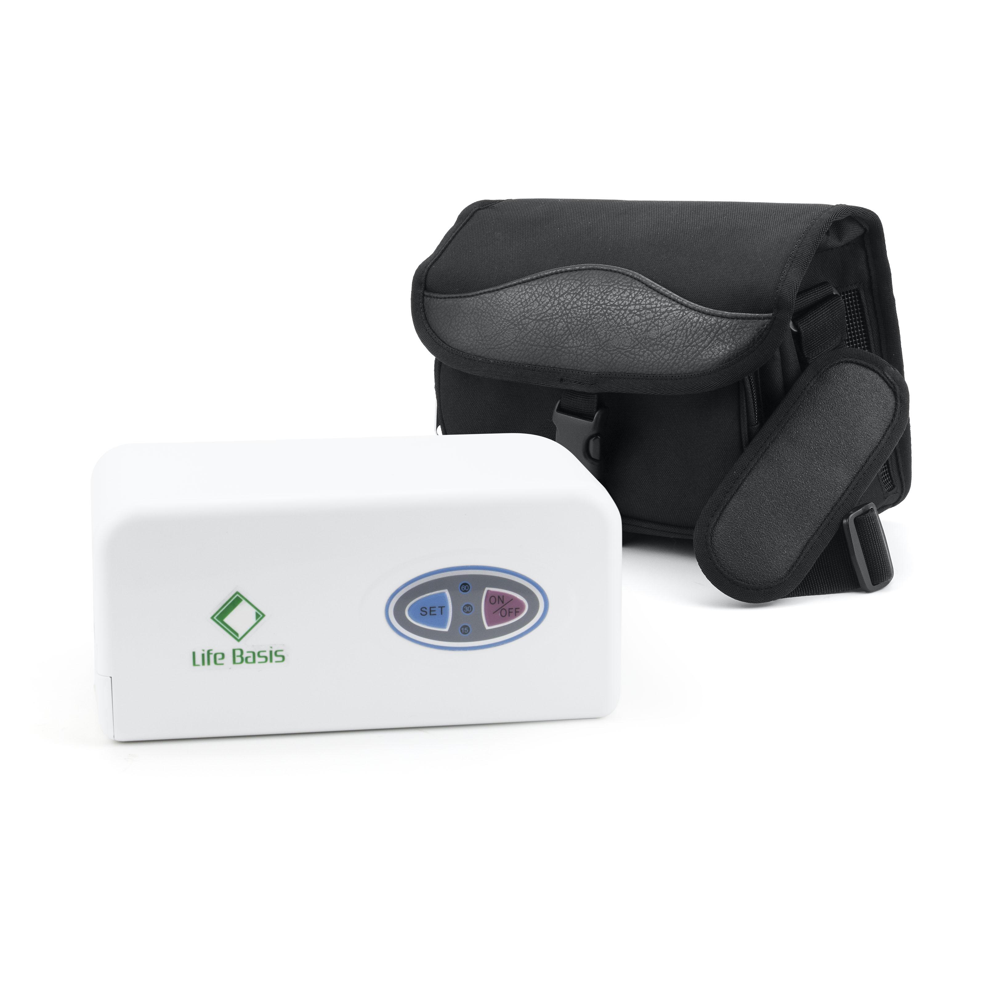Low Noise Mini Battery 3L Portable Oxygen Concentrator Generator - KingCare   KingCare.net