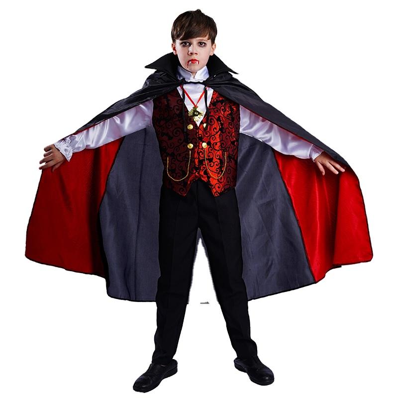 Halloween Kid's Costume  Party Fancy Dress Cosplay handsome Vampire Costume For Children