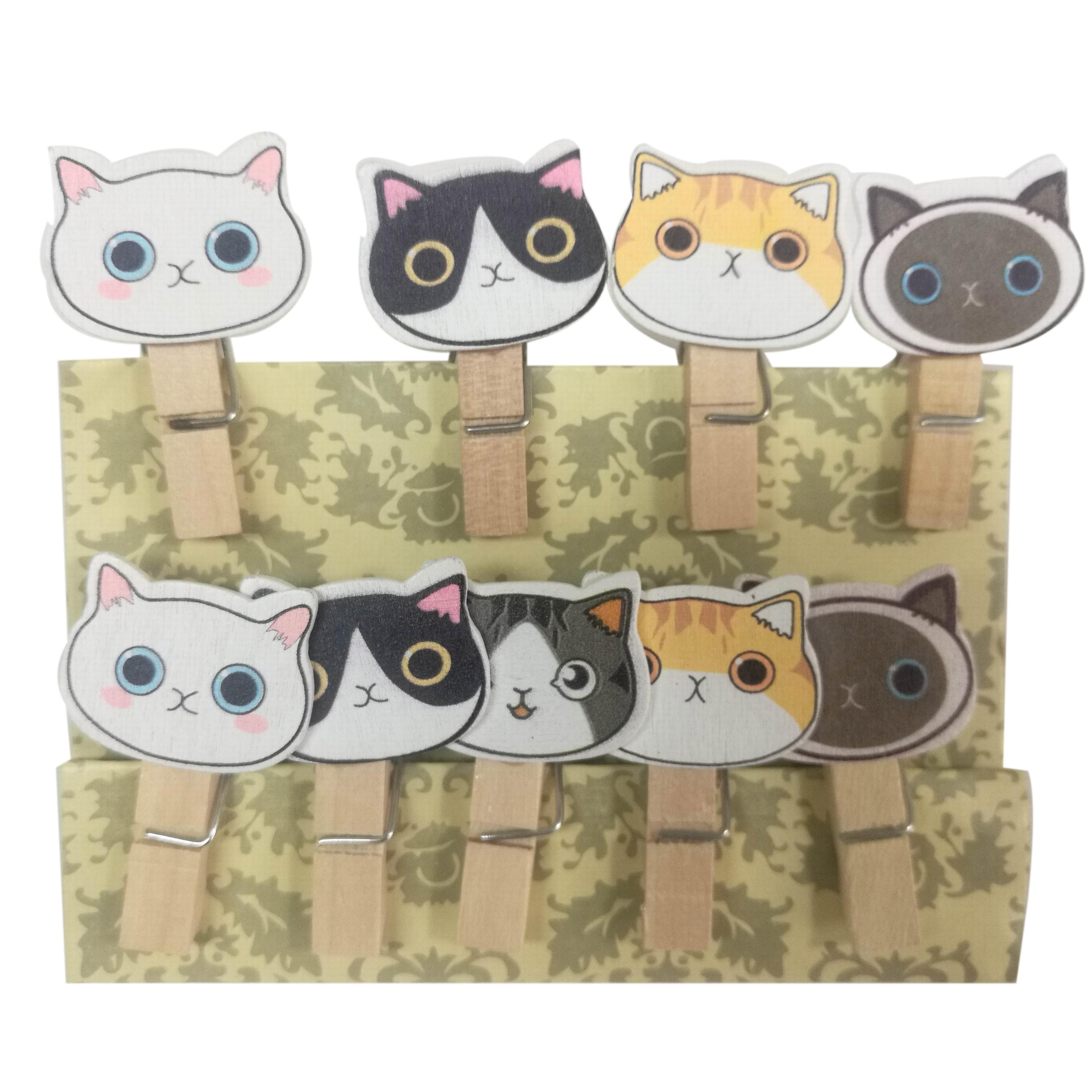 Kucing Mewah Kepala Mewarnai Kayu Clothespins Buy Warna Warni Kayu Klip Kepala Kucing Klip Pakaian Kerajinan Kayu Klip Product On Alibaba Com