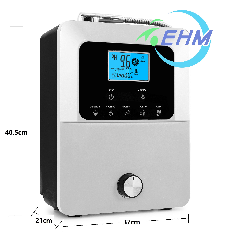 Аппарат для ионизации щелочной воды Kangen PH2.8 ~ 11, 11 листов